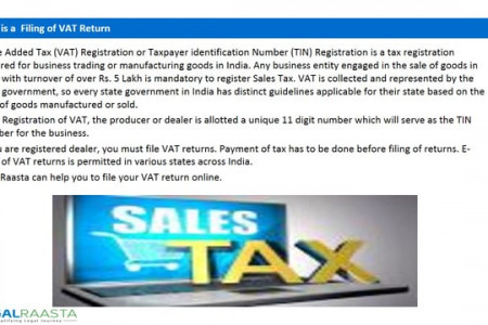 Sales Tax Return Infographic