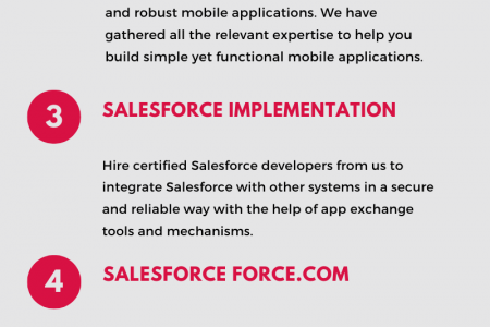 Salesforce Development Services | CRM Development Company in USA - Technosip Infographic