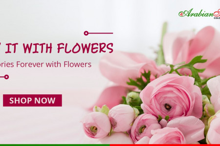 Same day flower delivery Dubai Infographic