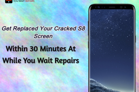 Same Day Galaxy S8 Cracked Screen Repair Service London Infographic