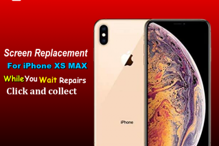 Same Day iPhone xs  max Screen repair Service London Infographic