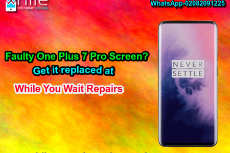 Same Day One Plus 7 Pro Cracked Screen Repair Service London Infographic