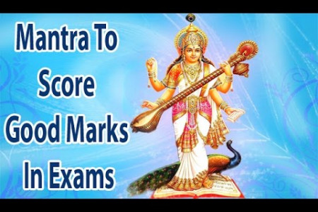 Saraswati and Ganesh Mantra for Success in Passing Competitive Exam Infographic