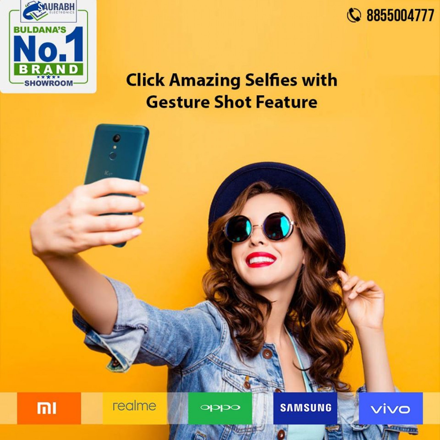 Saurabh Electronics | Best Mobile Store in Buldhana Infographic