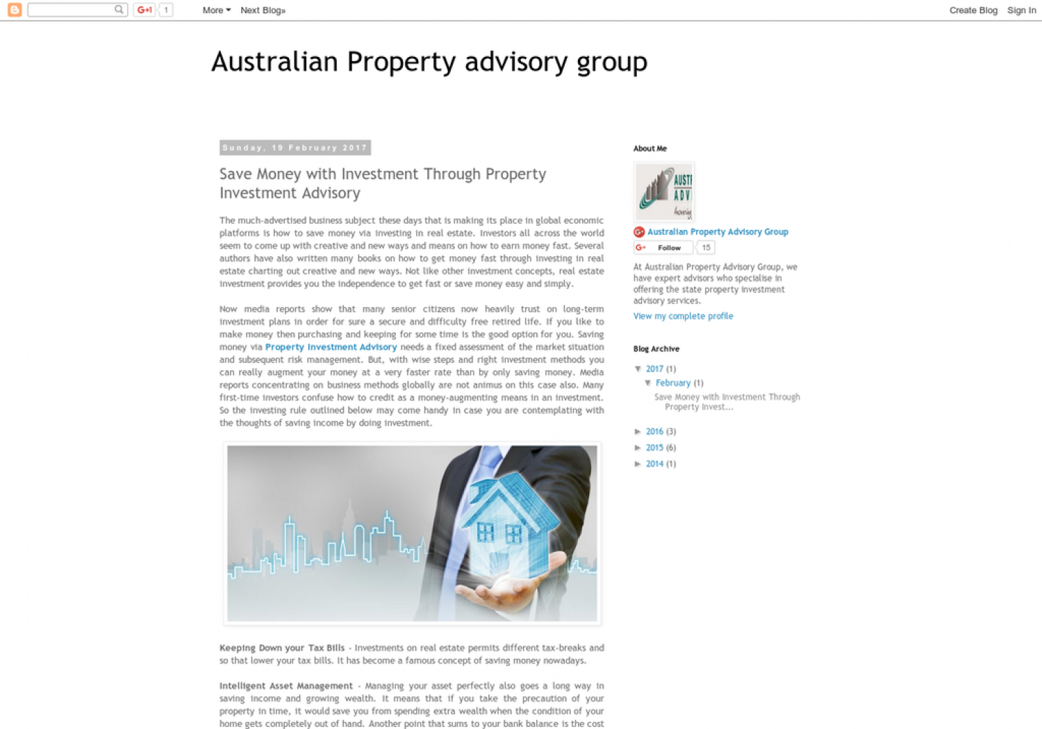 Save Money with Investment Through Property Investment Advisory Infographic