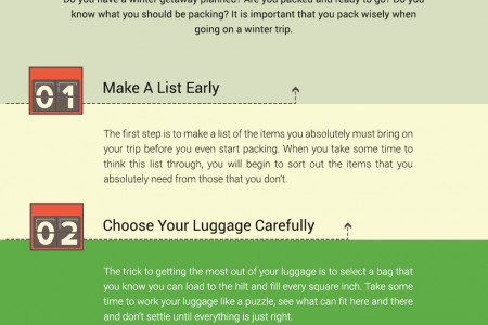 Save space during winter packing with these helpful tips Infographic