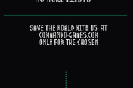 save the world with us ! Infographic