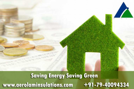 Saving Energy Saving Green – Aerolam Insulations Infographic