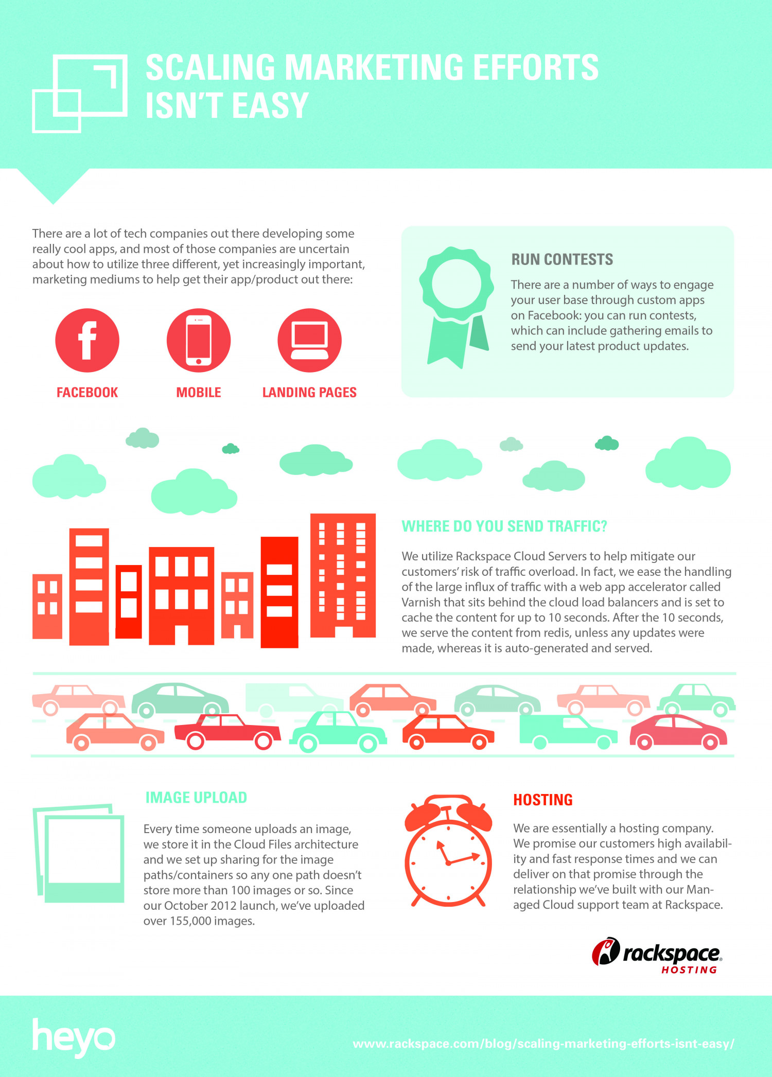 Scaling Marketing Efforts Isn't Easy Infographic