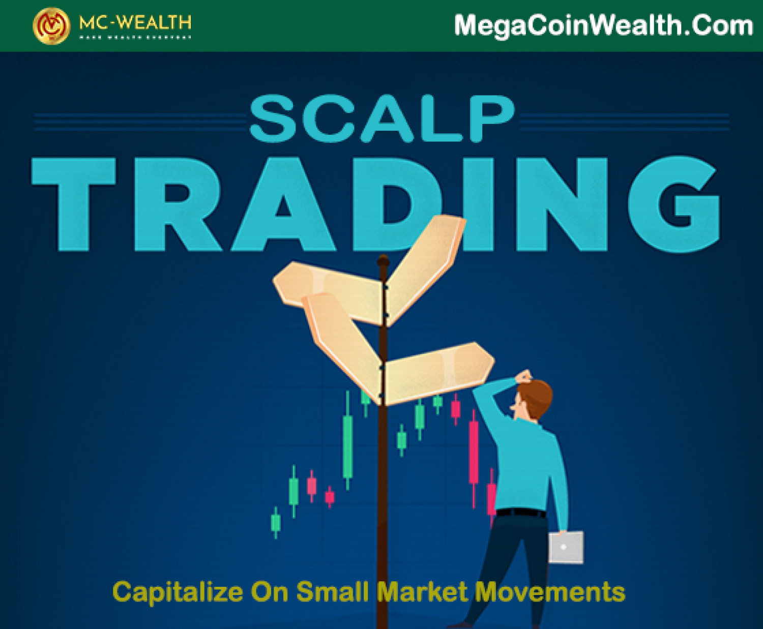 Scalping Trading Infographic