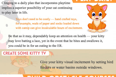 Scientific Benefits of Having a Pet Cat Infographic