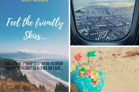 Scoot Flight Booking | 1*844*313*4735 | Cheap Flight Deals Infographic