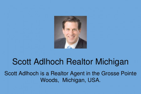 Scott Adlhoch Realtor Michigan - Grosse Pointe Park Homes Infographic