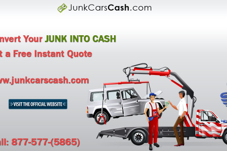 Scrap Cars For Cash Infographic
