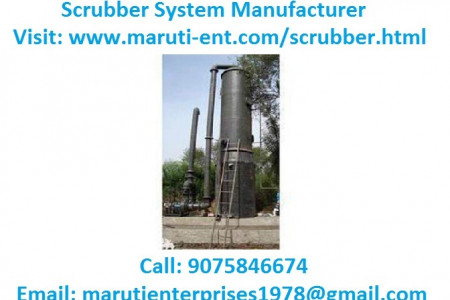 Scrubber System Manufacturer Infographic