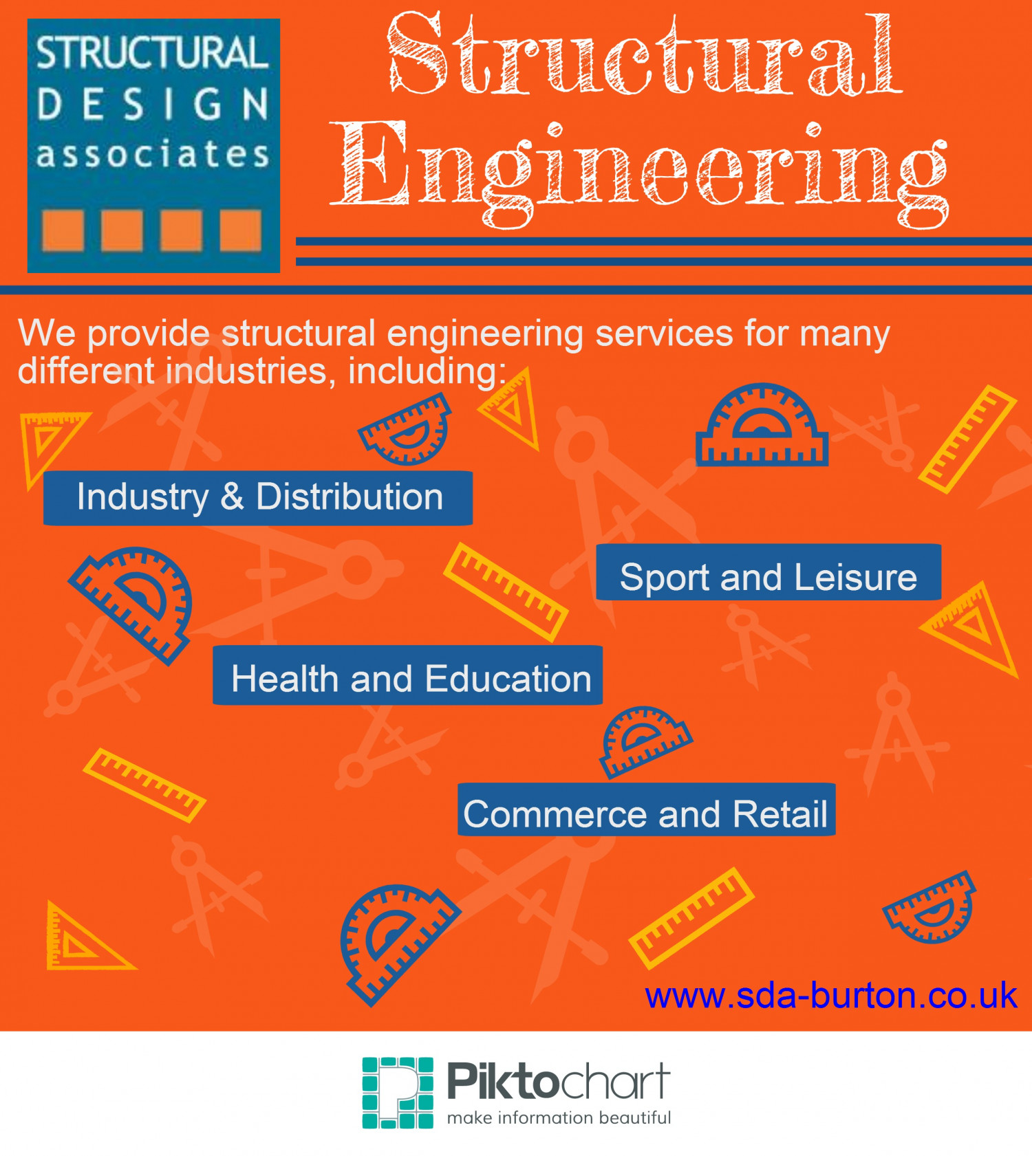 SDA Burton - Structural Engineering Infographic