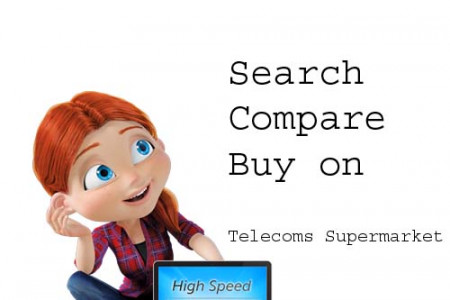 Search-Compare-Buy on Telecoms Supermarket India - www.telecomssupermarket.in Infographic
