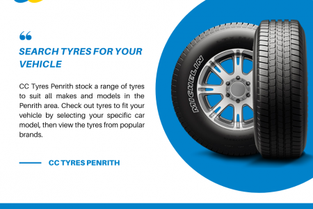 Searching For Brand New Tyres For Your Vehicle? Infographic