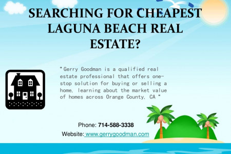 SEARCHING FOR CHEAPEST LAGUNA BEACH REAL ESTATE Infographic