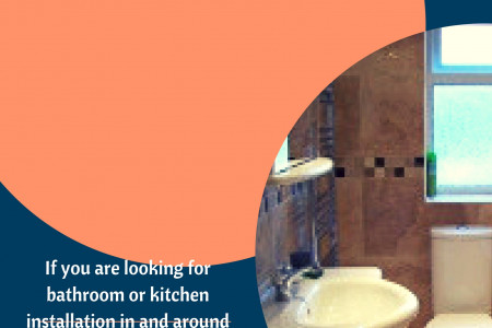 Searching for professional kitchen and bathroom installation in and around Tyne and Wear Infographic