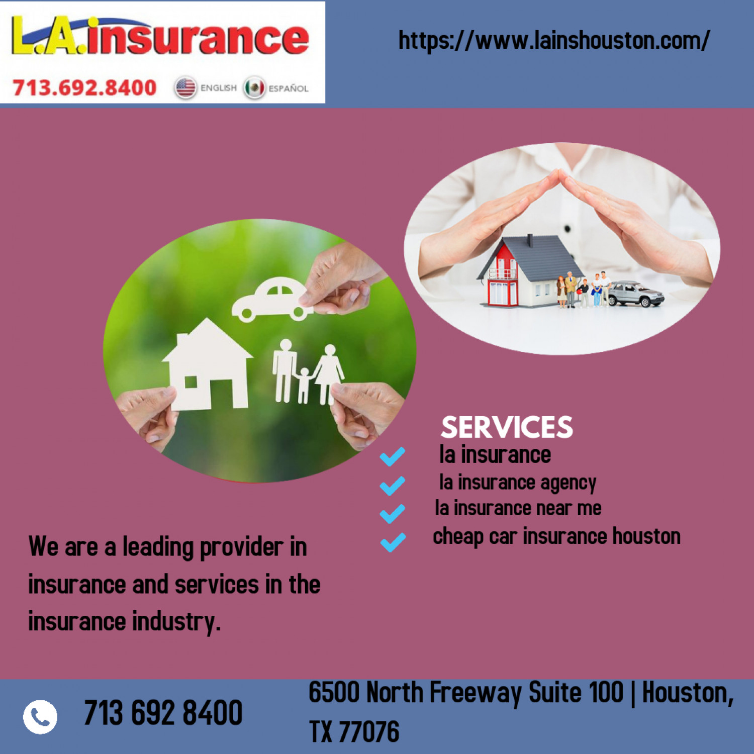 Searching for the best LA Insurance Agency? Infographic