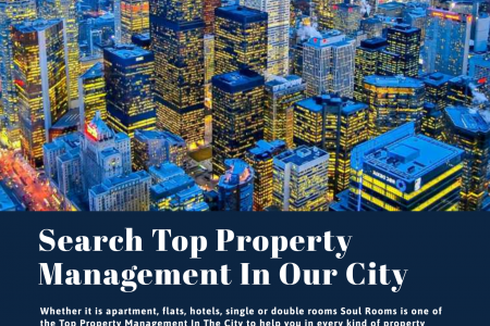 SearchTop Property Management In Our City Infographic