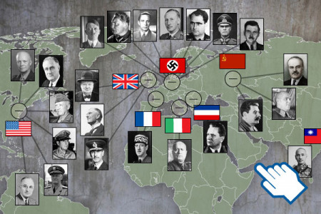 Second world war Infographic