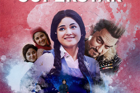 Secret Superstar Movie Poster Design Infographic