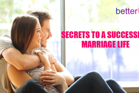 Secrets to a Successful Marriage life Infographic