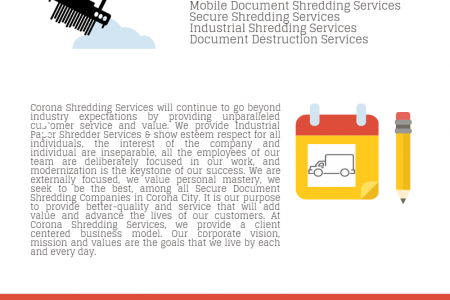 Secure Document Shredding Infographic