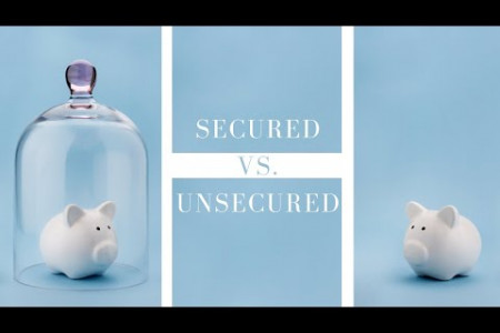 Secured vs. Unsecured Debts Infographic