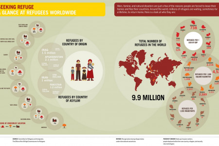 Seeking Refuge Infographic