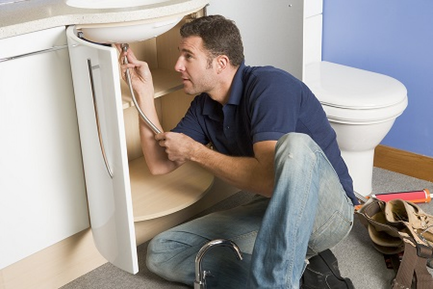 Select A Good Plumbing Services Infographic