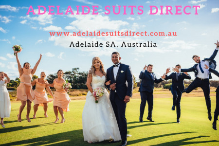 Select Your Favorite Wedding Suit in Adelaide South Australia Infographic