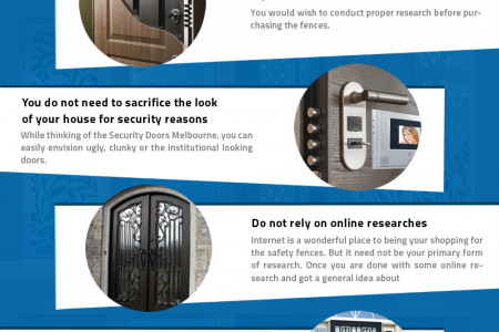 Selecting Security Doors Melbourne Infographic