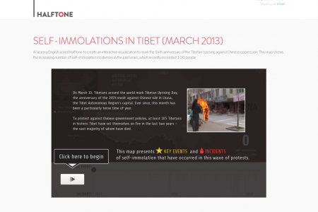 Self-Immolations in Tibet Infographic