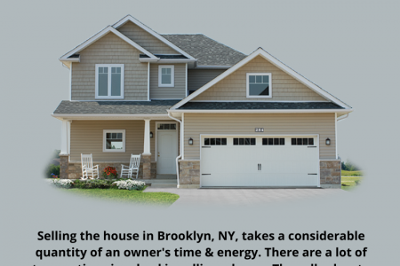 Sell House Brooklyn, NY: Get Instant Cash Offer For Your Property Infographic