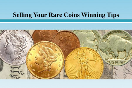 Selling Your Rare Coins Winning Tips Infographic