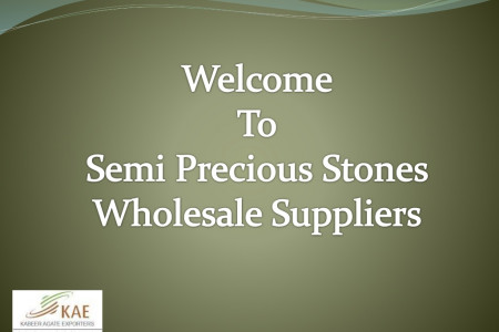 Semi Precious Stones for Sale Wholesale Suppliers Infographic