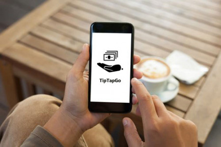 Send and receive international Payment with TipTapGo Infographic