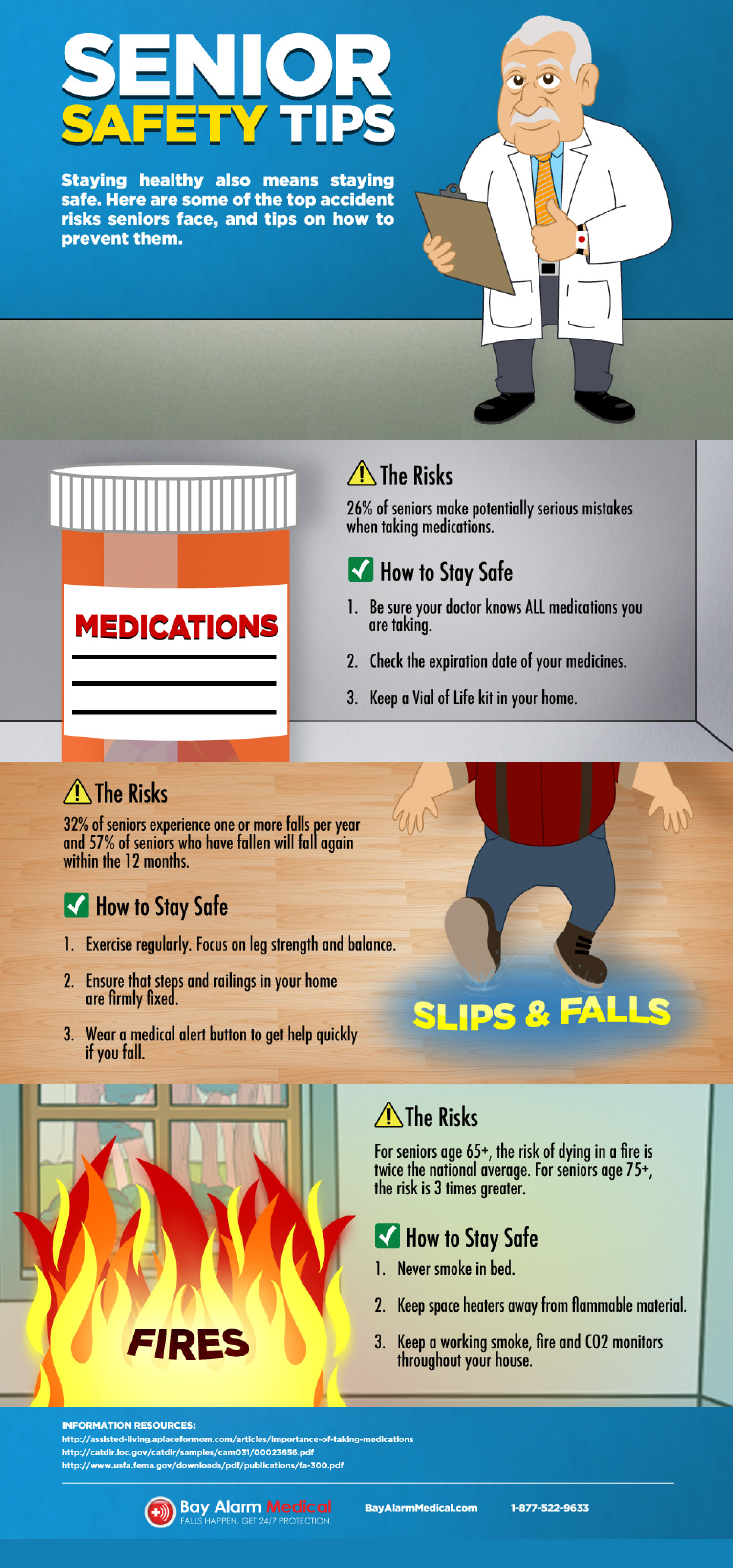 Senior Safety Risks Amp Tips For Staying Safe Visual Ly