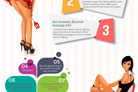 Sensuous Tips  For Great Foreplay Infographic