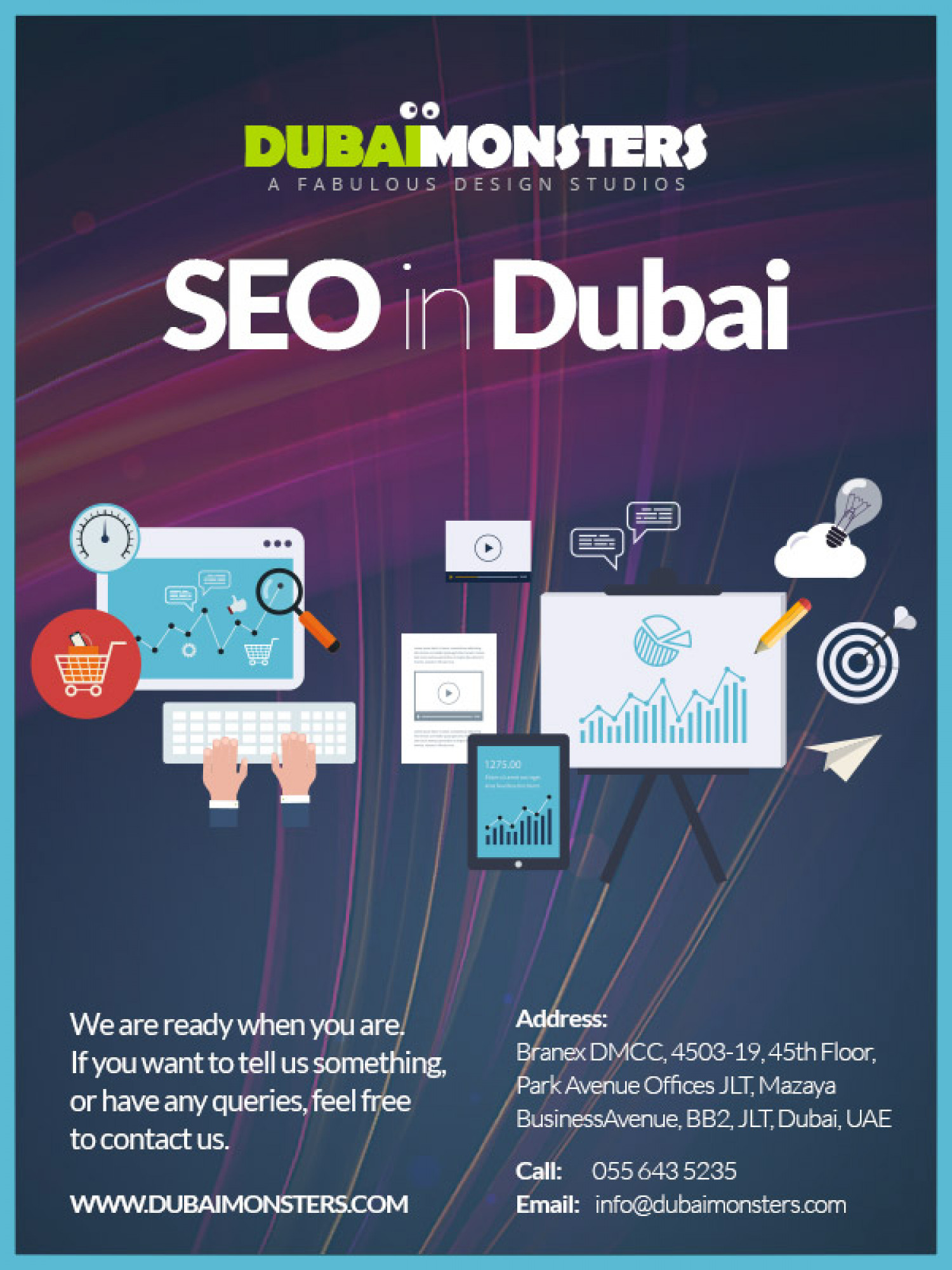 SEO In Dubai Infographic