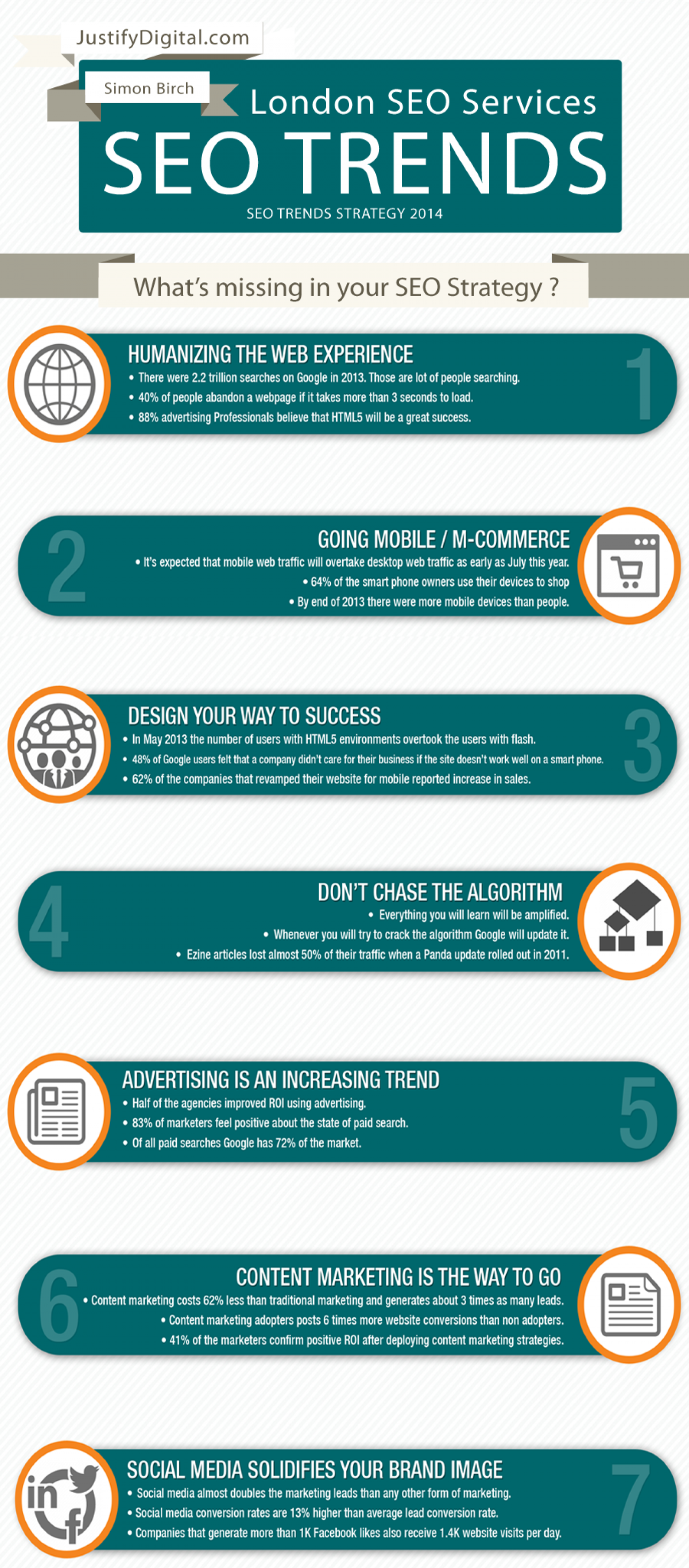 SEO Strategy 2014 Infographic