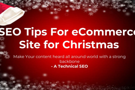 SEO Tips For eCommerce website for Christmas Infographic
