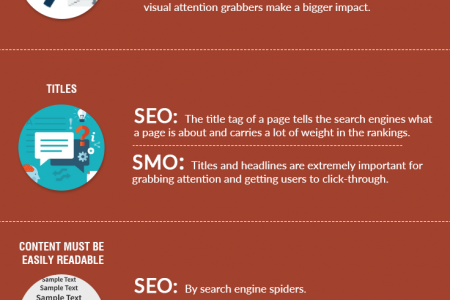 SEO vs SMO Comparison Infographic