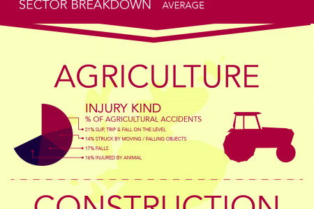 Serious Injuries in the Workplace Infographic