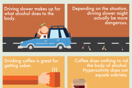 Setting the Record Straight: 8 of the Most Common Drunk Driving Myths Infographic