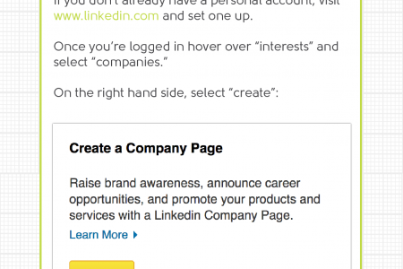 Setting up a LinkedIn company page: what, why, when and how? Infographic