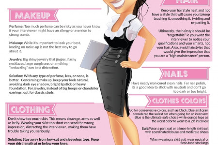 Seven Attire Mistakes That Can Sabotage Your Next Job Interview Infographic